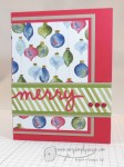 Merry, So Very – GDP013 – A Quick and Easy Card!