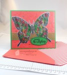 Swallowtail Birthday Card