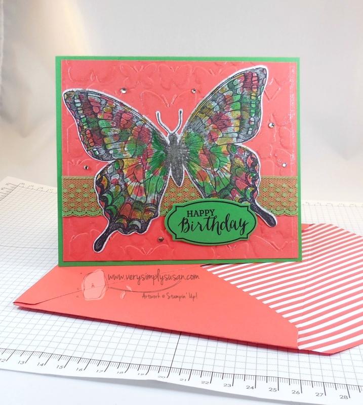 Swallowtail Birthday Card