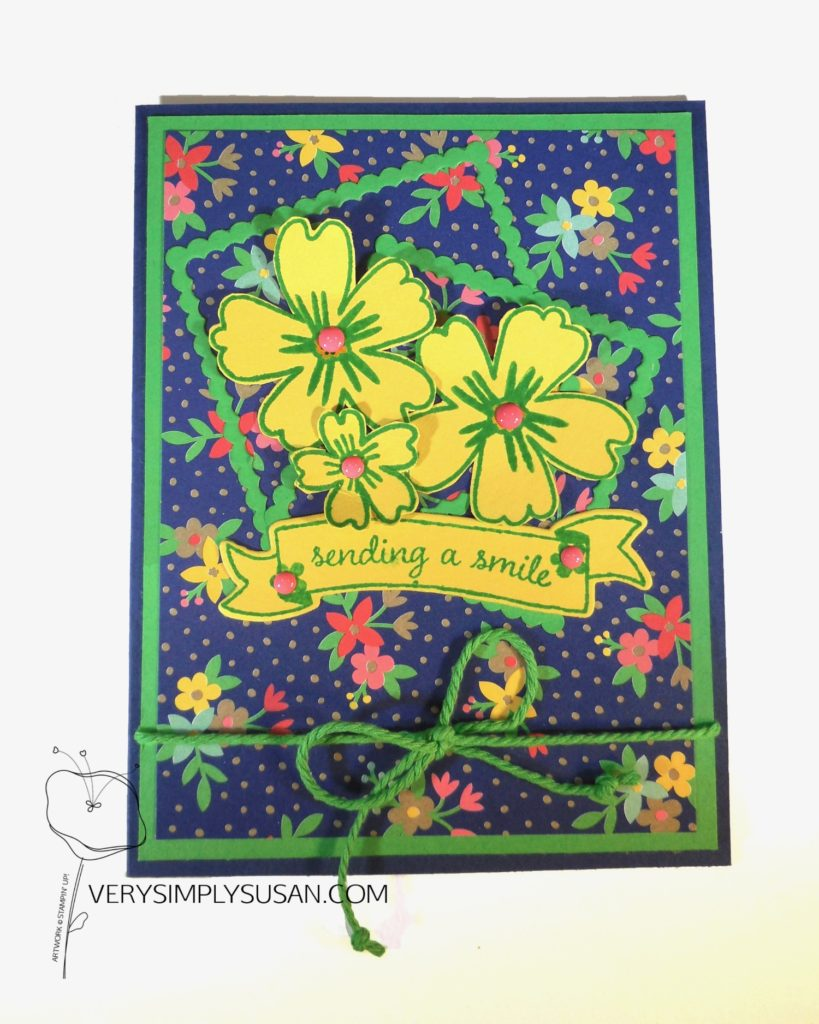 Love & Affection, Affectionately Yours DSP, Stampin Up