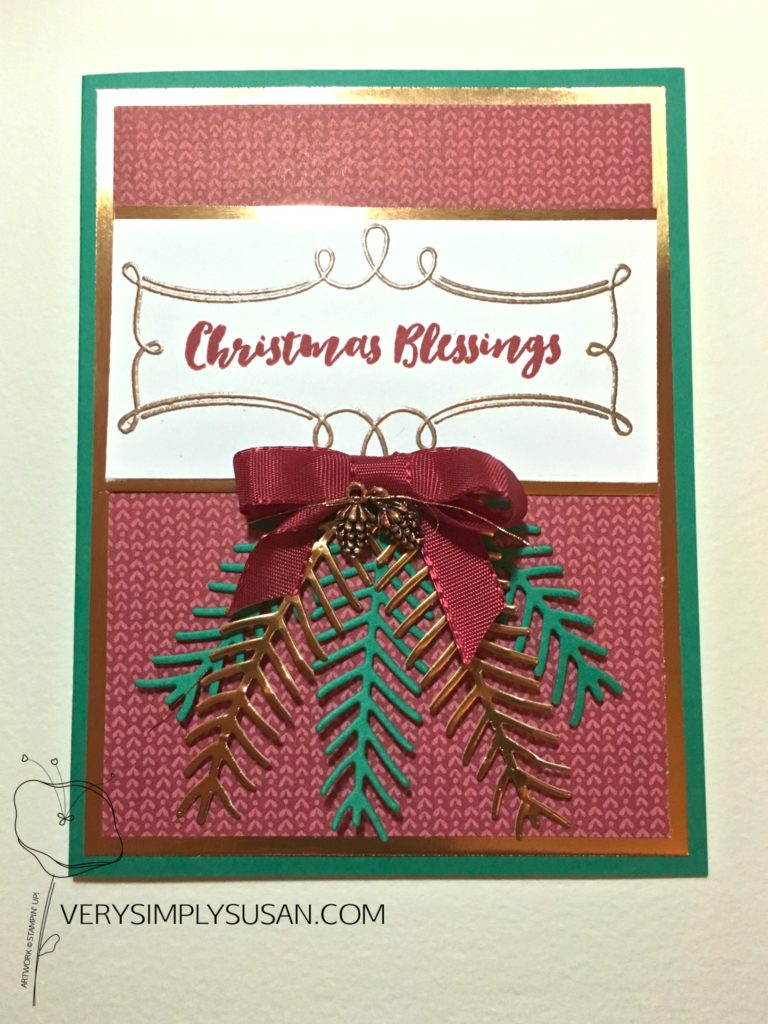 Christmas Pines, Stampin Up