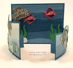 Seaside Shore, Fancy Fold Cards