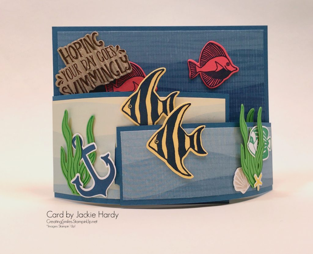 Seaside Shore, Fancy Fold Card