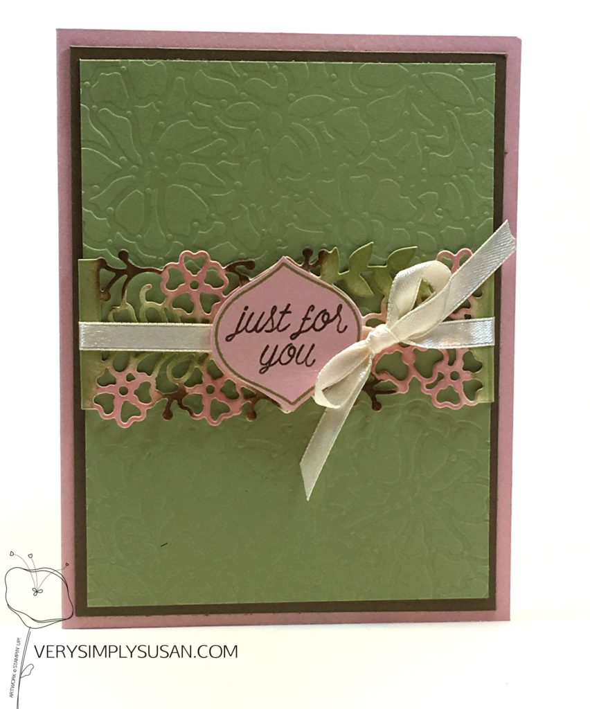 So Detailed, Stampin' Up