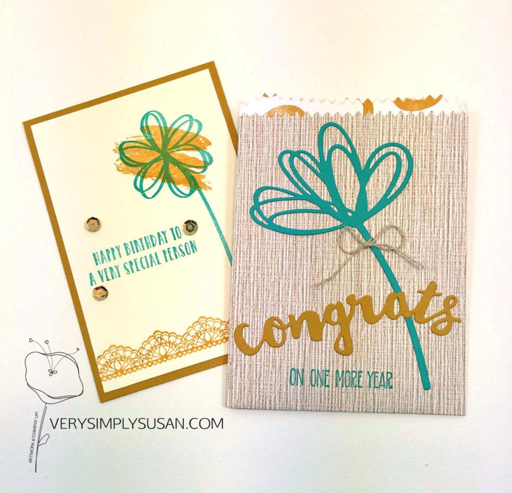 Sunshine Sayings, Sunshine Wishes Thinlits, Mini Treat Bag Thinlits,