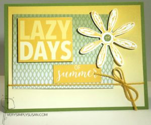 Memories & More, Stampin' Up, Color Theory Suite, Daisy Punch