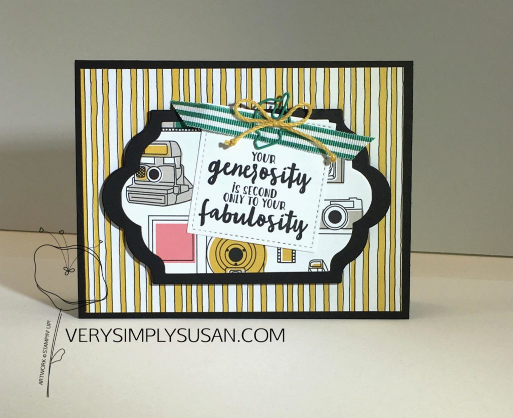 Thankful Thoughts, STAMPIN' UP!, Pick A Pattern DSP