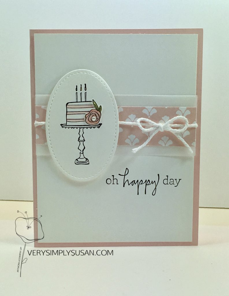 Happiest of Days, STAMPIN' UP!, Fresh Florals DSP
