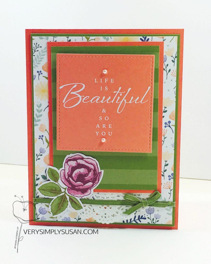 Petal Garden Memories & More, Delightful Daisy DSP, STAMPIN' UP!