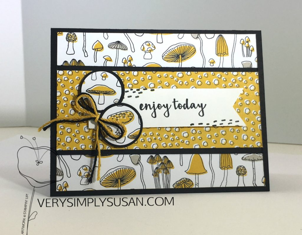 Pieces & Patterns Mushroom Patch, STAMPIN' UP!