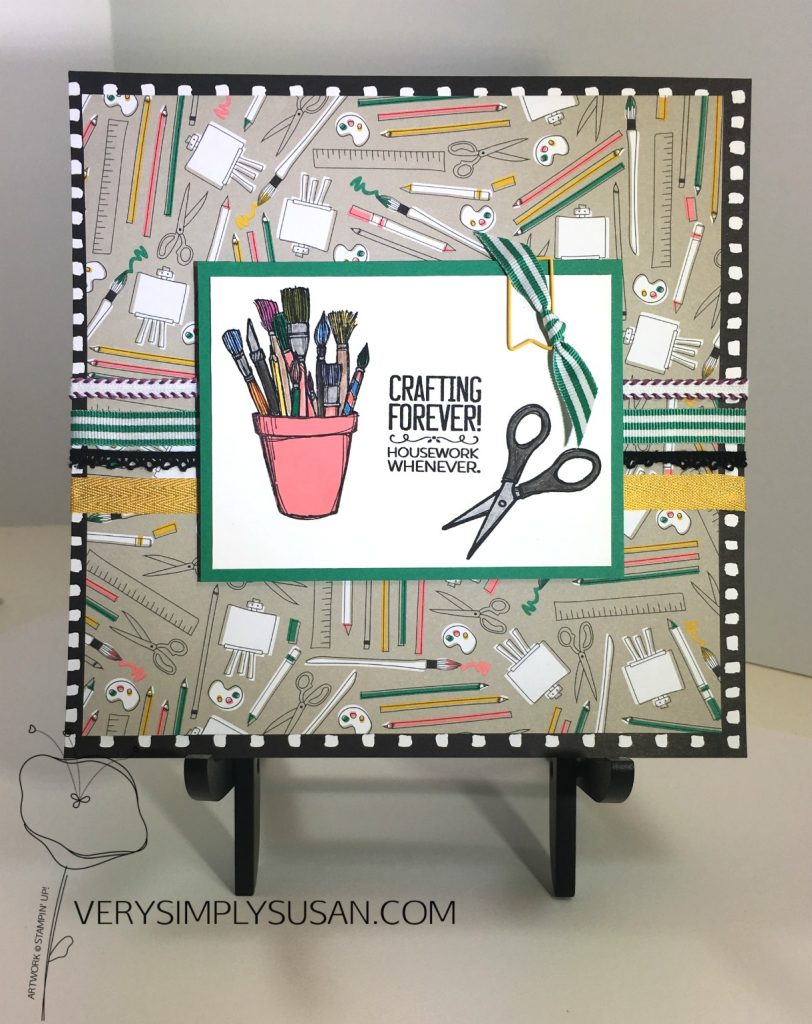 Crafting Forever, Pieces & Patterns DSP, STAMPIN' UP