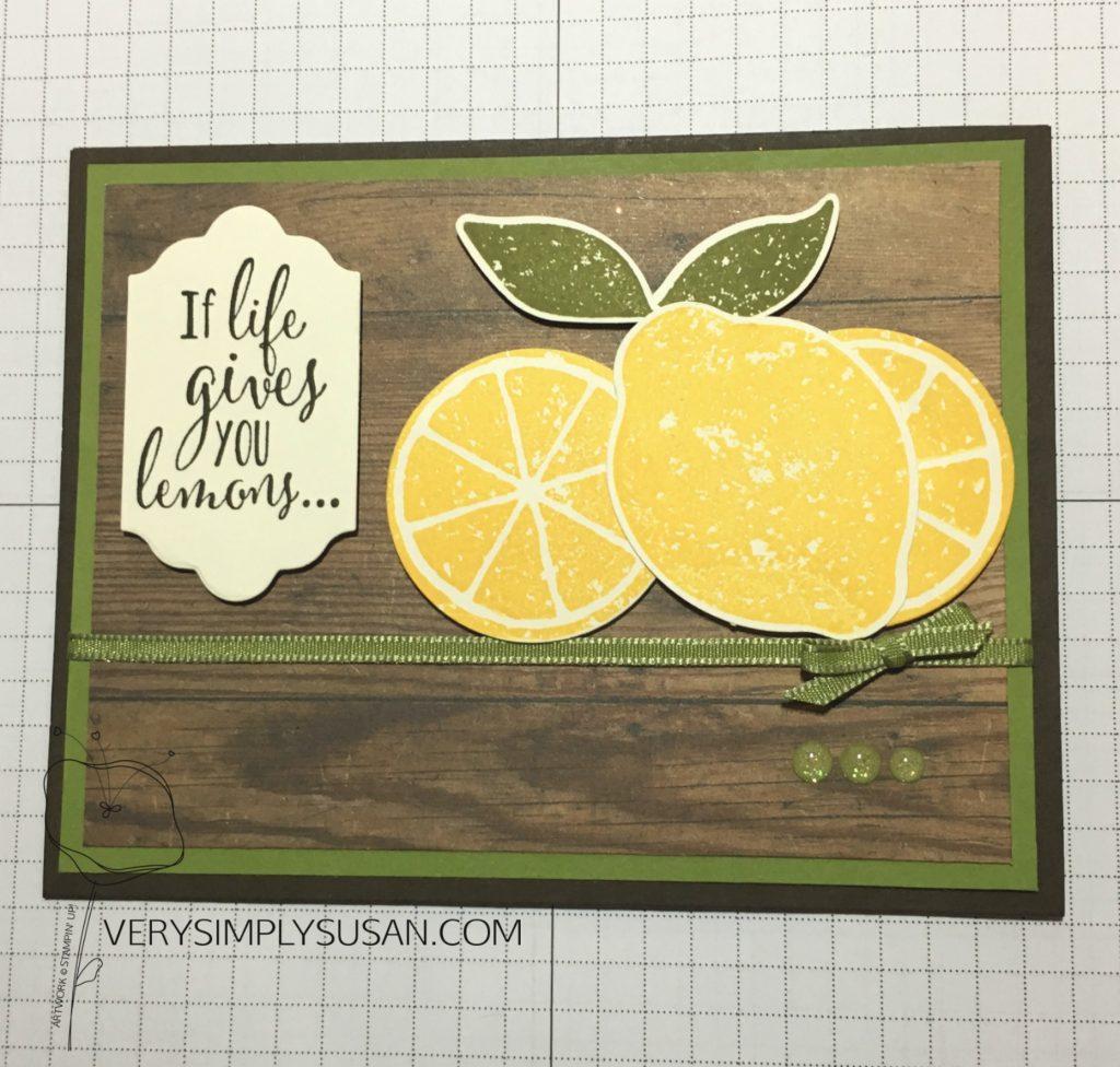 Lemon Zest, STAMPIN' UP!