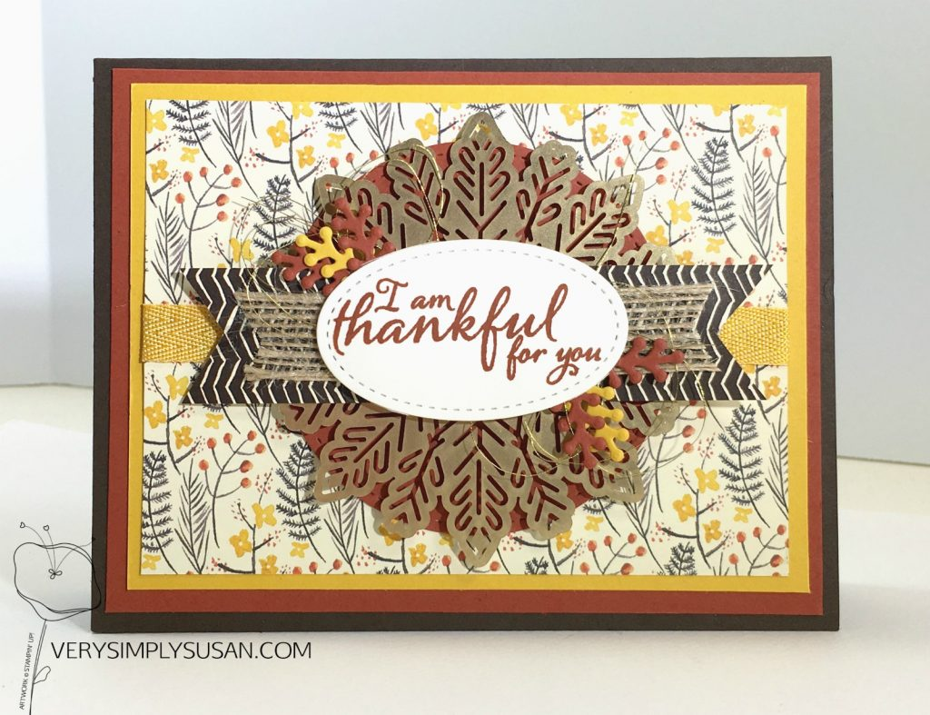 Painted Harvest, Painted Autumn DSP, STAMPIN' UP!