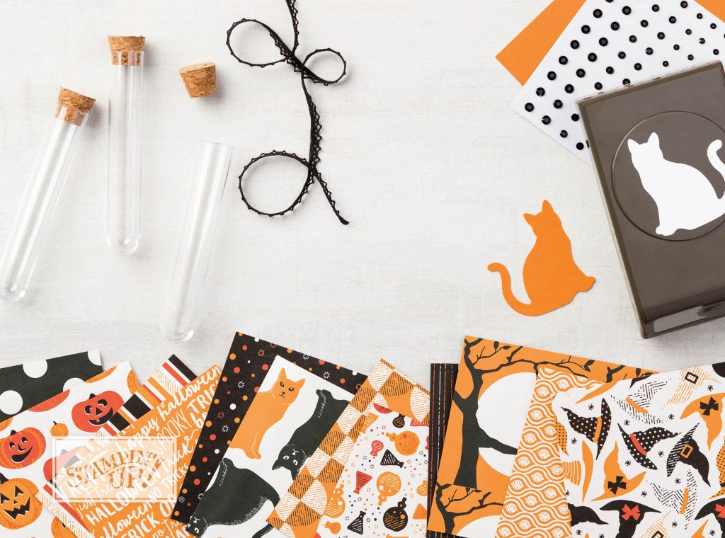 Spooky Nights, Cat Punch, Treat Tubes, STAMPIN' UP!