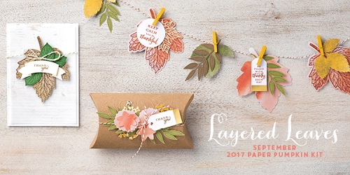 Paper Pumpkin September 2017, STAMPIN' UP!