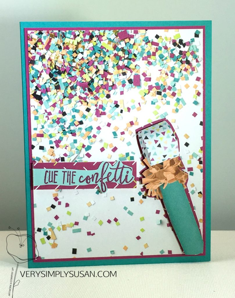 Picture Perfect Birthday, Picture Perfect Party DSP, STAMPIN' UP!