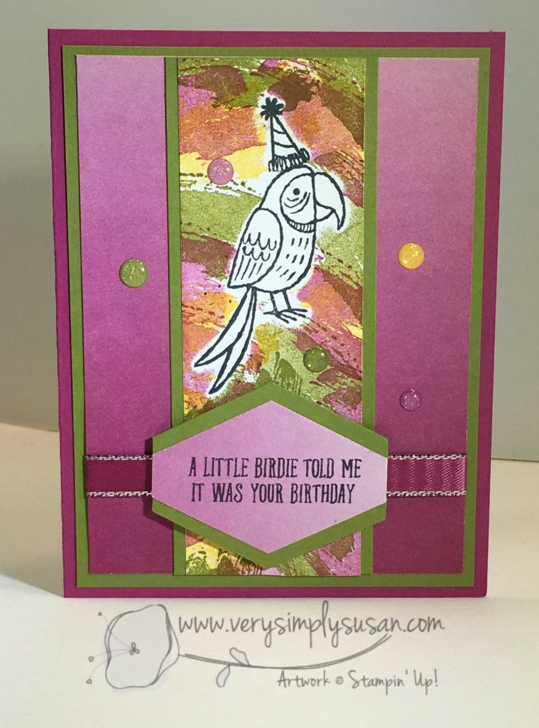 Bird Banter, Stampin' Up!