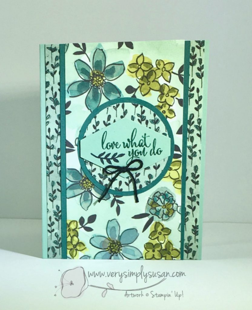 Share What You Love, Love What You Do, Stampin' Up