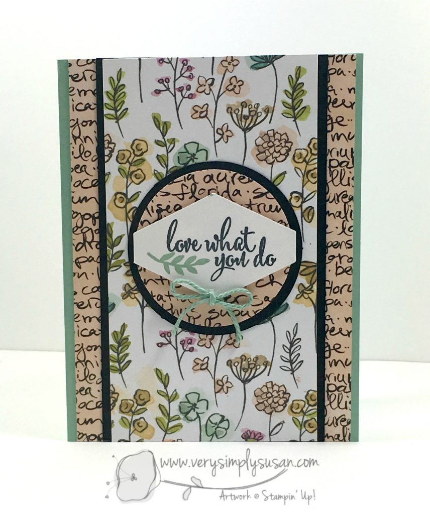Love What You Do, Share What You Love, Stampin' Up!
