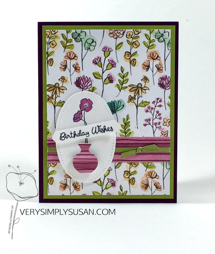Varied Vases, Love What You Do, Stampin' Up!