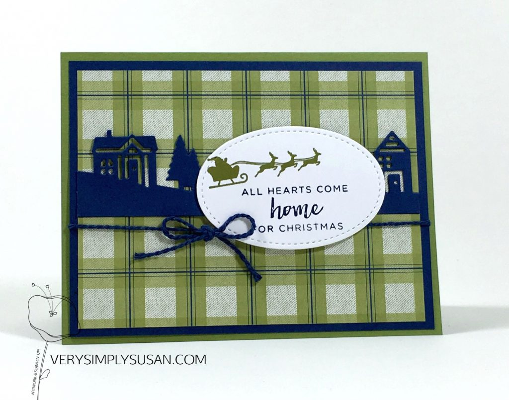 Hearts Come Home. Hometown Greetings, Under The Mistletoe, Stampin' Up!