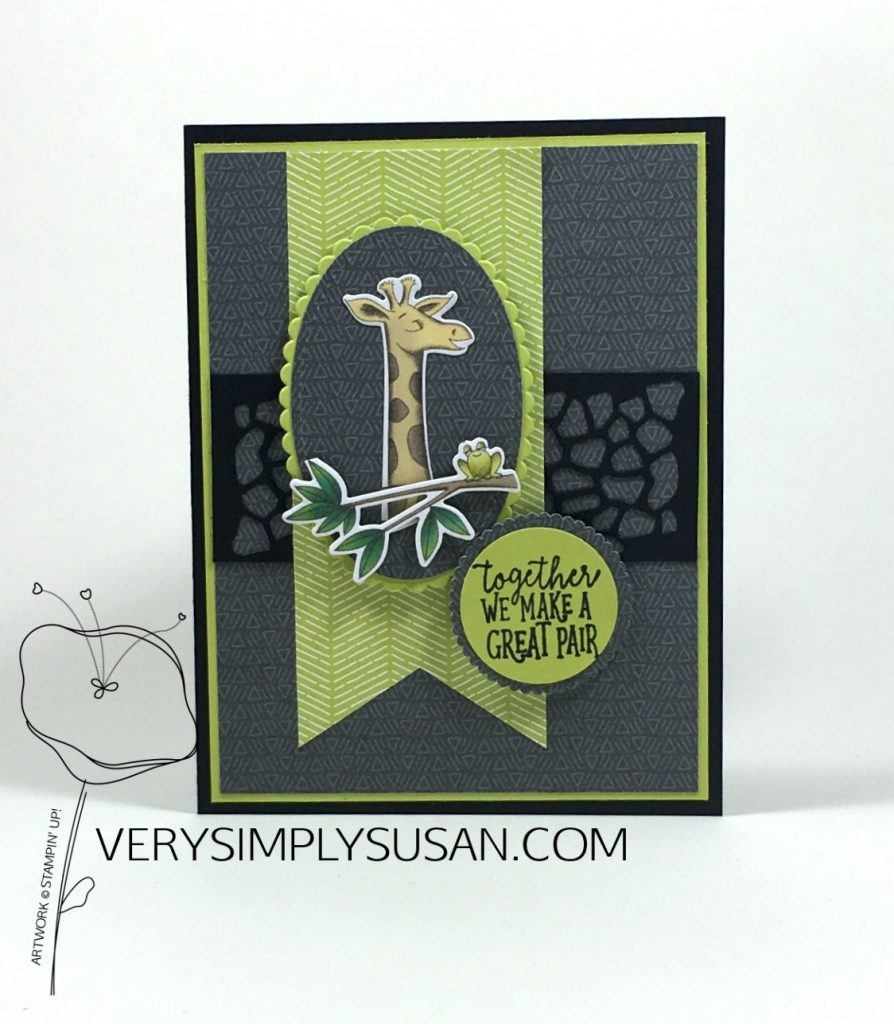 Animal Outing, Animal Expedition, Stampin' Up!