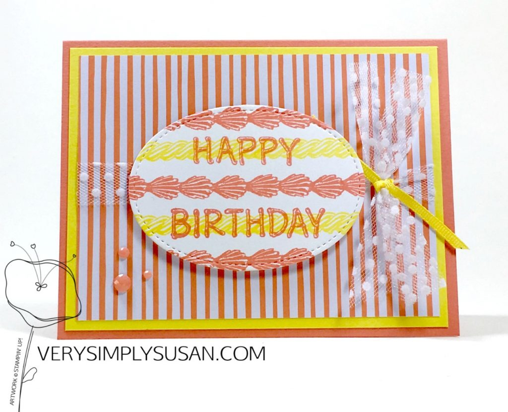 Icing On The Cake, Stampin' Up!