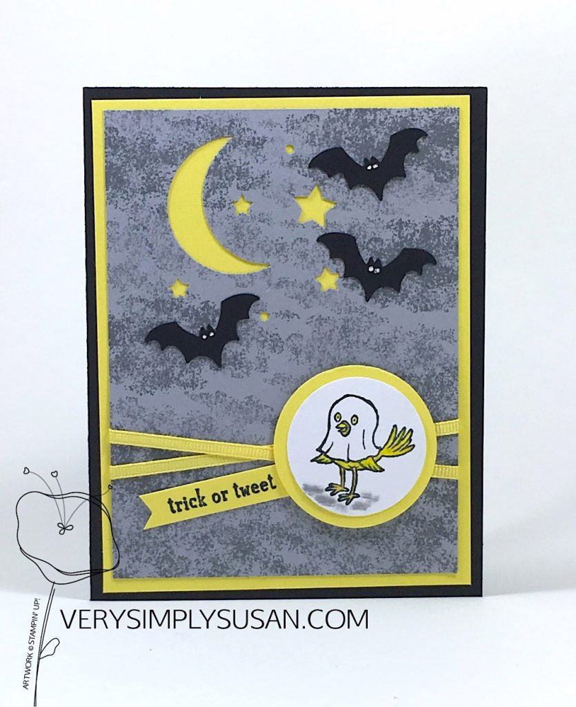 Track or Tweet, Spooky Sweets, Stampin' Up!