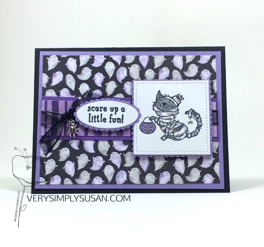 Trick or Tweet, Toil & Trouble DSP, Stampin' Up!