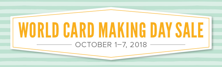 Stampin' Up! World Card Making Day