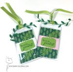 Gift Tags With Tropical Chic