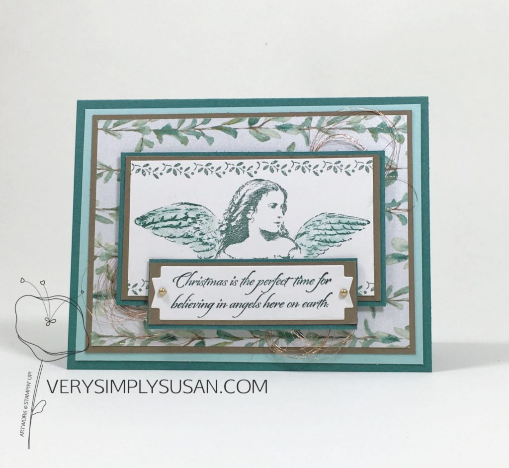 Angels On Earth, Stampin' Up!