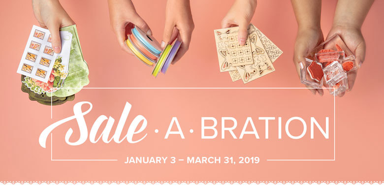 Stampin' Up!Sale-A-Bration 2019
