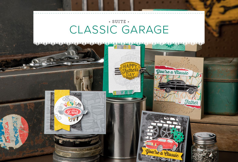 Stampin' Up Classic Garage