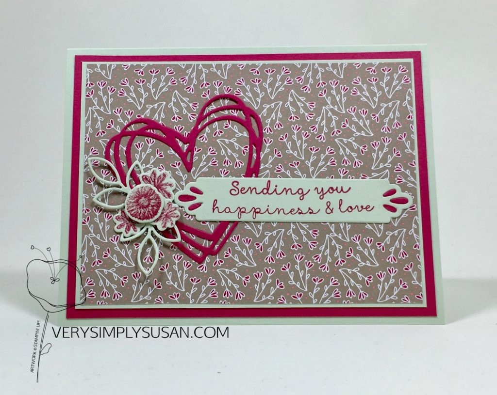 Needle & Thread, Sunshine Wishes, Valentine's Day Card